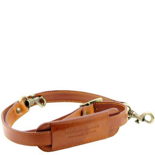 TL Voyager Adjustable leather shoulder strap Мед TL141929