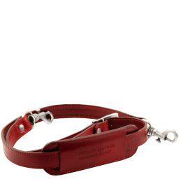 TL Voyager Adjustable leather shoulder strap Red TL141929