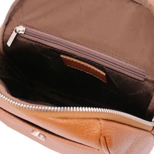 TL Bag Soft leather backpack Коньяк TL141905