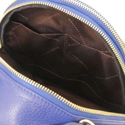 TL Bag Leather backpack for women Синий TL141743