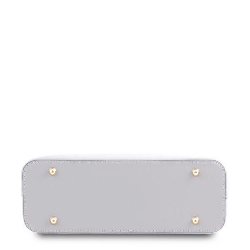 Olimpia Borsa a mano in pelle - Misura piccola Bianco TL141521