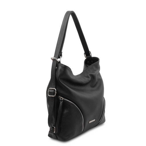 TL Bag Soft leather convertible shoulder bag Черный TL141938