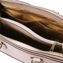 TL Bag Bolso a mano en piel Saffiano Nude TL141638