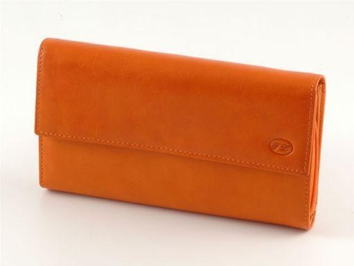 Portafogli in pelle donna Arancio TL140268