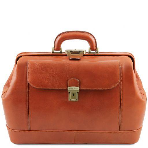 Leonardo Exklusive Arzttasche aus Leder Honig TL141299