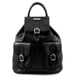 Tokyo Кожаный рюкзак Черный TL9035