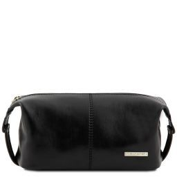 Roxy Beauty case in pelle Nero TL140349