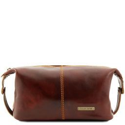 Roxy Leather toilet bag Brown TL140349