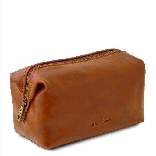 Smarty Beauty case in pelle - Misura piccola Miele TL141220