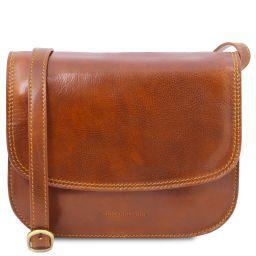 Greta Lady leather bag Honey TL141958