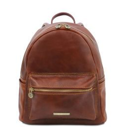 Sydney Leather backpack Brown TL141979