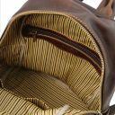 Sydney Leather backpack Dark Brown TL141979