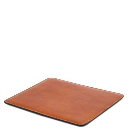 Office Set Sottomano da scrivania e tappetino per mouse in pelle Miele TL141980