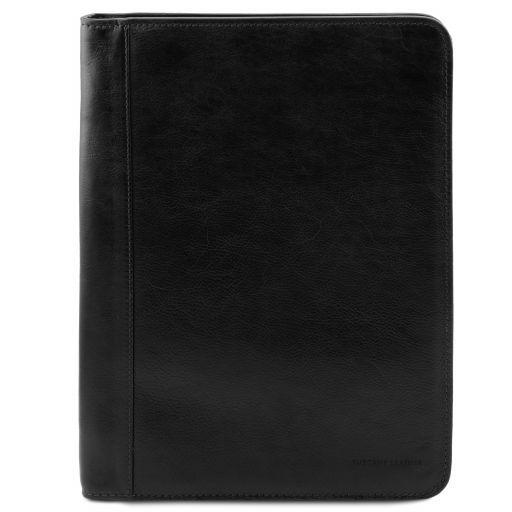 Ottavio Leather document case Black TL141294
