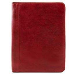 Ottavio Leather document case Red TL141294