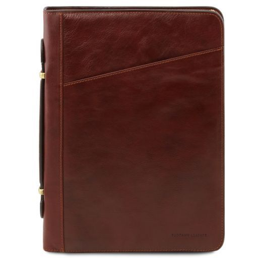 Costanzo Exclusive Leather Portfolio Brown TL141295