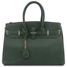 TL Bag Borsa a mano con accessori oro Verde Foresta TL141529