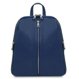 TL Bag Soft leather backpack for women Темно-синий TL141982