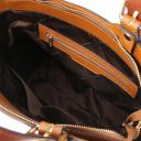 TL Bag Shopping Tasche aus Saffiano Leder Cognac TL141696