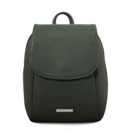 TL Bag Zaino in pelle morbida Verde Foresta TL141905