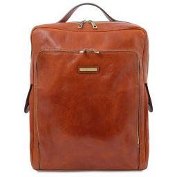 Bangkok Leather laptop backpack - Large size Мед TL141987