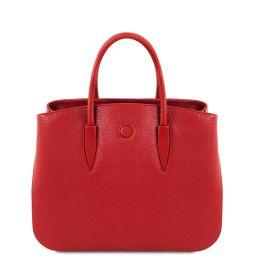 Camelia Leather handbag Lipstick Red TL141728