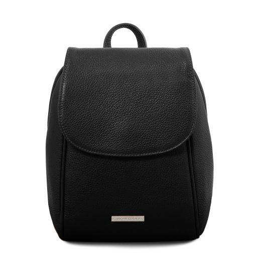 TL Bag Soft leather backpack Black TL141905
