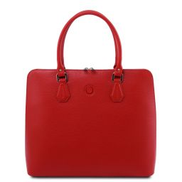 Magnolia Leather business bag for women Lipstick Red TL141809