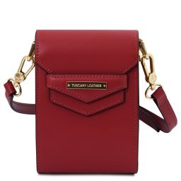 TL Bag Leather shoulder bag Red TL141996