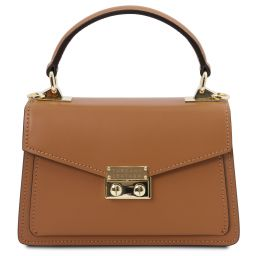 TL Bag Leather mini bag Cognac TL141994