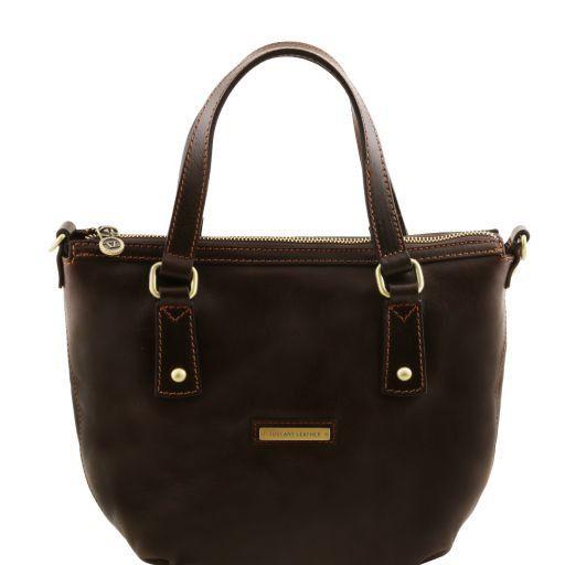 Olga Borsa shopping in pelle Testa di Moro TL141483