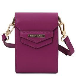 TL Bag Bolso en piel Violeta TL141996