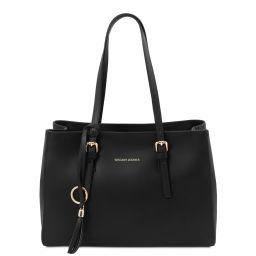 TL Bag Sac bandoulière en cuir Noir TL142037