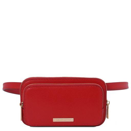 TL Bag Riñonera en piel Rojo Lipstick TL141999