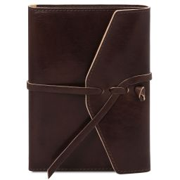 Leather journal / notebook Темно-коричневый TL142027