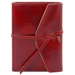 Journal / Carnet en cuir Rouge TL142027