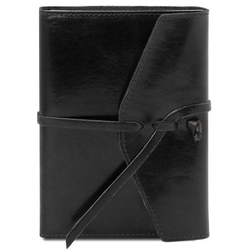 Leather journal / notebook Черный TL142027