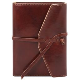 Journal / Carnet en cuir Marron TL142027