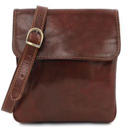 Joe Leather Crossbody Bag Brown TL140987