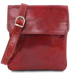 Joe Sac bandoulière en cuir Rouge TL140987