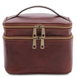 Eliot Leather toilet bag Коричневый TL142045