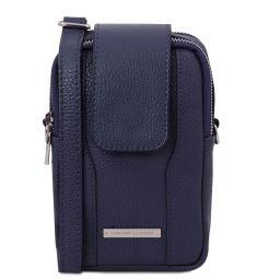 TL Bag Bolsillo Porta móvil en piel suave Azul oscuro TL141698