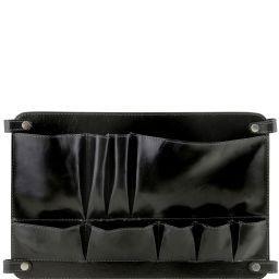 TL Smart Module Módulo multifunción en piel con bolsillos Negro TL141520