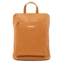 TL Bag Soft leather backpack for women Honey TL141682