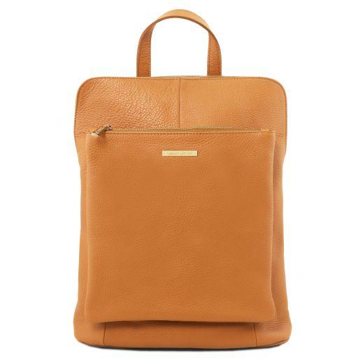TL Bag Mochila para mujer en piel suave Miel TL141682