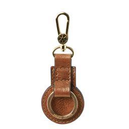 Porte clé en cuir Naturel TL141922