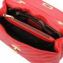 TL Bag Bolso en piel suave con bandolera Rojo Lipstick TL142015