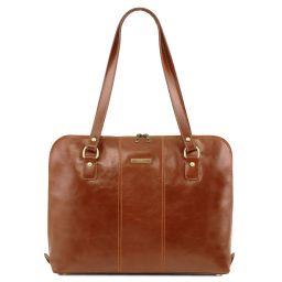 Ravenna Esclusiva borsa business per donna Miele TL141795