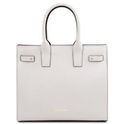 Catherine Leather handbag Белый TL141933