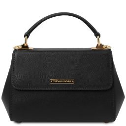 TL Bag Sac à main en cuir - Petit modèle Noir TL142076